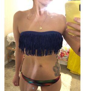 L*space purple bikini top